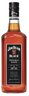 Jim Beam Bourbon Black 8 Year Double Aged...